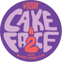 Cake Face 2 Black Forest Rye Ale