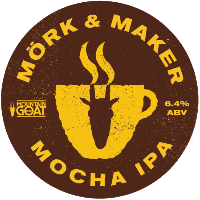 Mork and Maker Mocha IPA