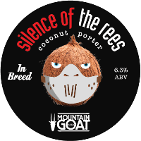 Rare Breed Silence of the Rees Coconut Porter